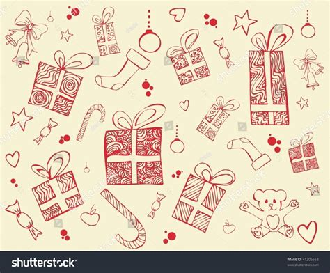 retro christmas pattern vector free retro christmas patterns stock vector illustration