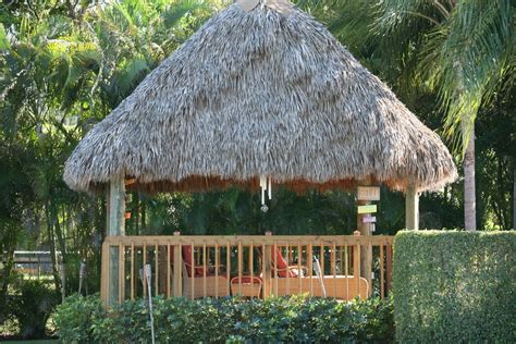 Tiki Hut Bamboo Landscapes Tiki Hut Gallery South East Florida
