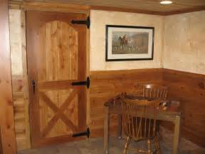 Basement Barn Doors Basement Storage Doors Barn Style Basement
