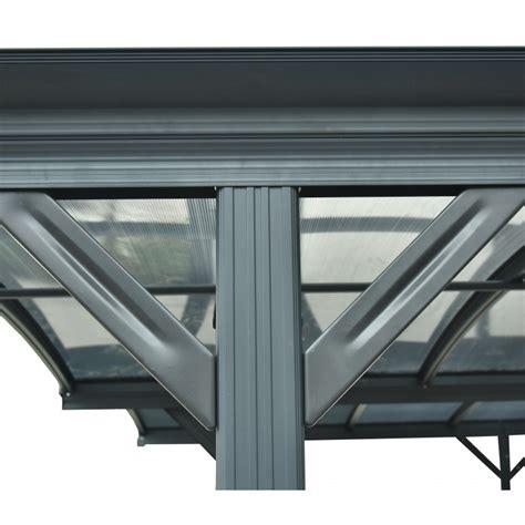 box auto in alluminio best doppia tettoia per auto in alluminio antracite e mm