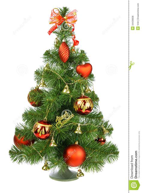 decorated christmas tree royalty  stock  image