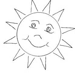 sun coloring page sun coloring pages to printable