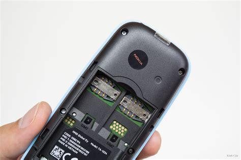 Nokia 105 Dual 2017 mở hộp nokia 105 dual sim 2017 độ ho 224 n thiện tốt b 224 n ph 237 m bấm 234 m gi 225 rẻ chỉ 359 000đ