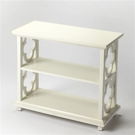 Butler Specialty Masterpiece 3 Shelf Paloma Bookcase In White Cottage Bookcase