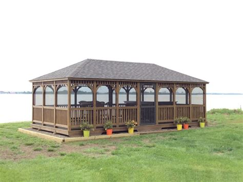 wood gazebo wood gazebos 183 recreation unlimited