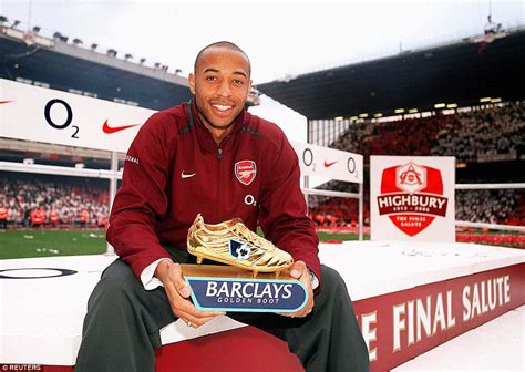 epl golden boot winners thierry henry powered arsenal barcelona and france to