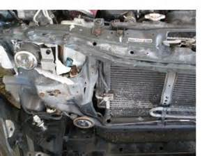 how to remove radiator support honda tech