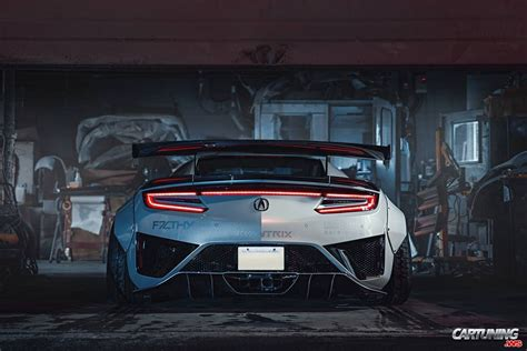 Acura Nsx Wide Kit by Acura Nsx 2018 Wide Rear