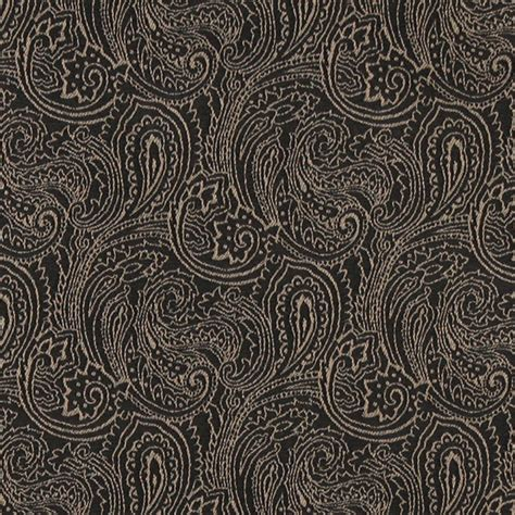 Black Upholstery Fabric Uk by Black Traditional Abstract Paisley Designed Woven Upholstery Fabric By The Yard Traditional