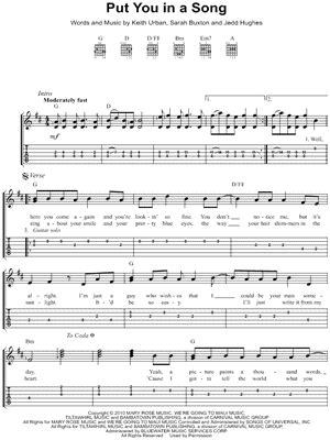 Keith Urban Songs Guitar Chords | top news