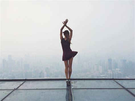 roof climbing girl dangerous selfies angela nikolau russia 5 ? Weird Russia