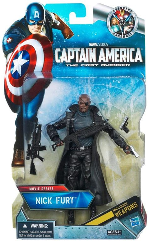 Captain America The Avenger Toys Exclusive nick fury marvel legends captain america the avenger figure exclusive series at