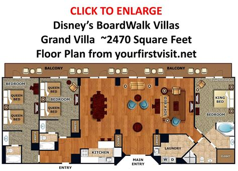 disney boardwalk villas floor plan review disney s boardwalk villas page 6 yourfirstvisit net