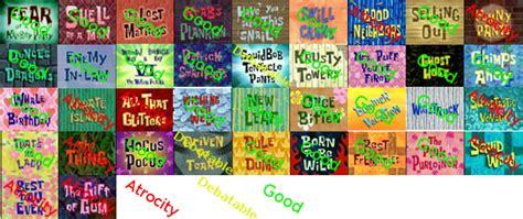 S4 Casa Umama New 2 spongebob season 4 scorecard complete by mrenter on deviantart