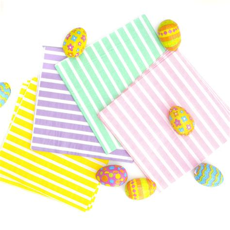 easter napkins easter table napkins by blossom notonthehighstreet
