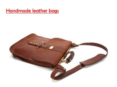 Handmade Leather Saddlebags - handmade leather bags