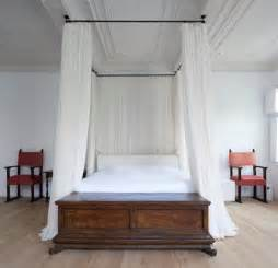Diy canopy bed made from curtain rods very cool