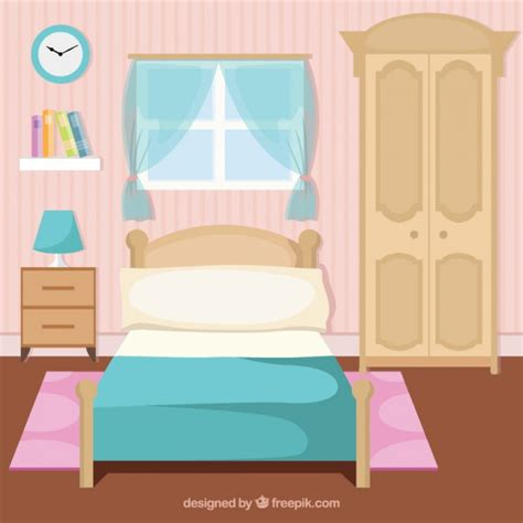 Bedroom Clipart Vector Bedroom Vectors Photos And Psd Files Free