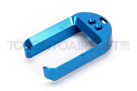 Barang Baru 5ku Style Mag Well For Tm Hi Capa Series 5ku magazine well blue for g17 g18c series