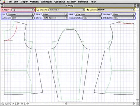 accumark pattern design software tutorial drafting software sewing pinterest drafting