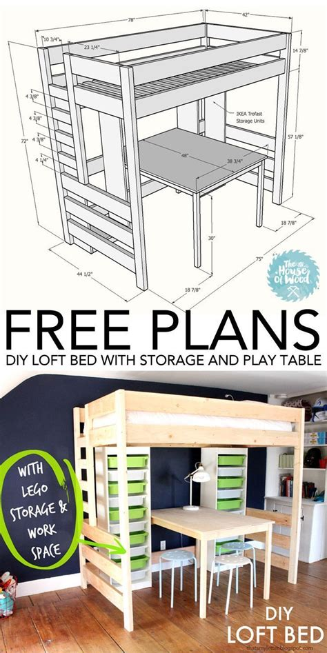 bed with desk and storage diy loft bed with desk and storage beds with storage