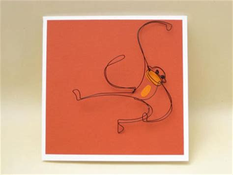 fold paper wire greeting cards paper crave