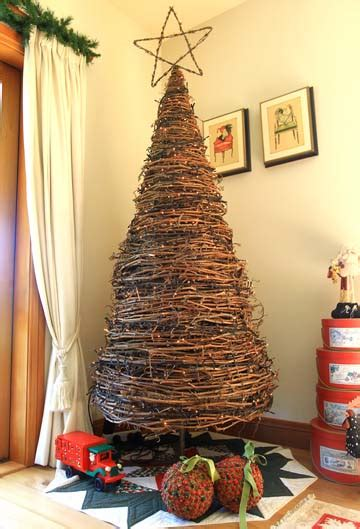 how to make small trees tree made from grapevine make small ones by