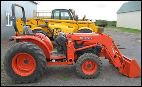 Kubota L3830 Specifications Attachments