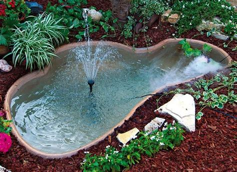 laghetto da terrazzo 17 migliori idee su laghetti da giardino su