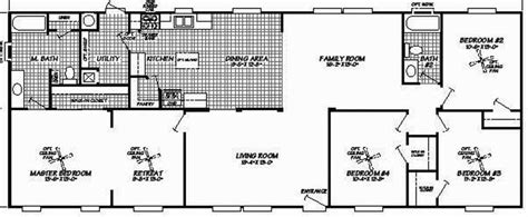 four bedroom mobile homes pre designed 4 bedroom homes statewide modular and