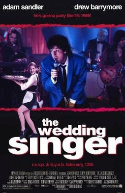 wedding singer wikipedia