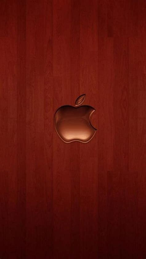 wallpaper iphone 5 apple hd cherry wood apple iphone 5 wallpapers hd