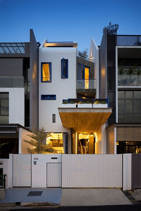 singapore house design original design maximizing tight spaces house at poh huat road in singapore