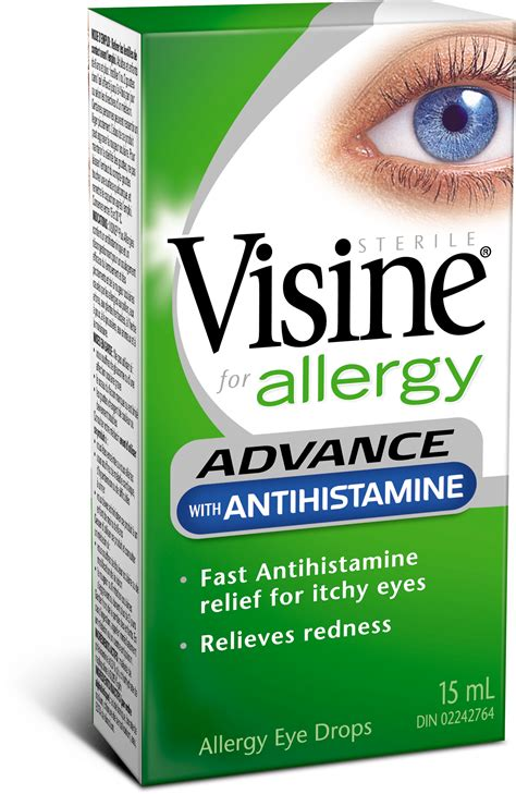 best antihistamine for allergies advance with antihistamine visine 174
