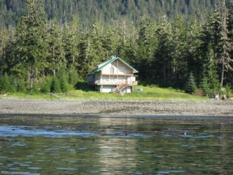 Remote Alaskan Cabins For Sale by Petersburg Alaska Waterfront Cabin For Sale