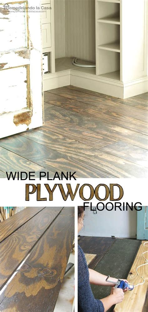 diy kitchen floor ideas best 10 plywood floors ideas on hardwood