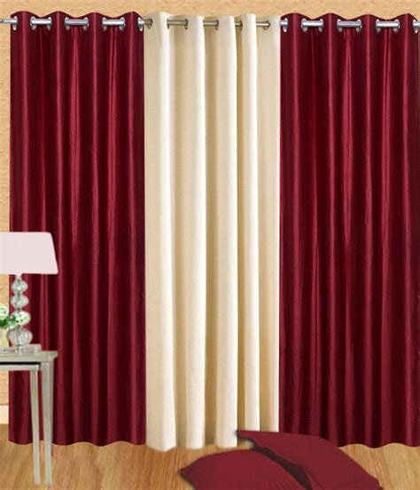 set of curtains white wave set of 3 door eyelet curtains solid white buy