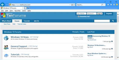 windows 8 explorer hide or show search box in internet explorer 11 windows