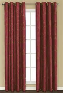 sinclair lined grommet curtain burgundy united curtain