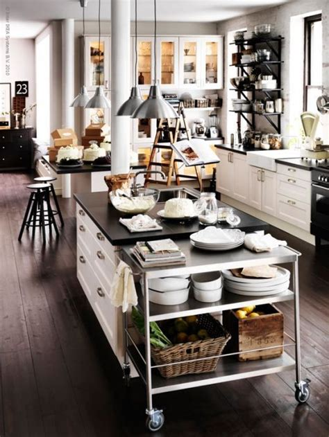 kitchen island decorative accessories 59 cool industrial kitchen designs that inspire digsdigs