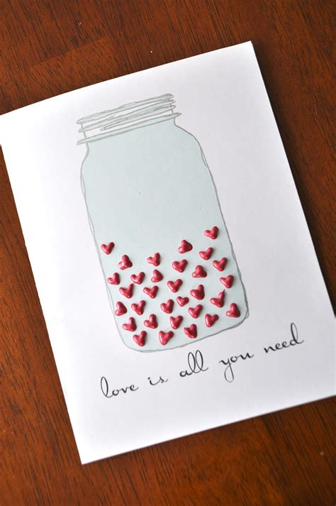 Handmade Valentines Day Card - ilovetocreate cards