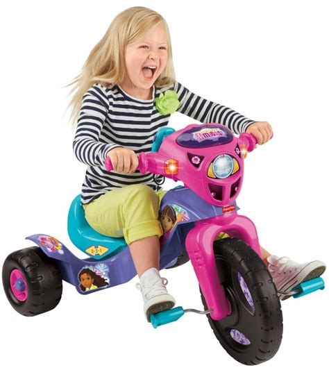 lights and sounds trike fisher price lights sounds trike dora