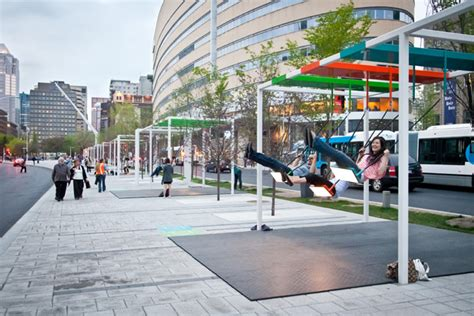 swing musical musical light swings on the streets of montreal colossal