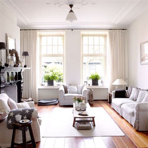 homes interiors and living new england style living room country homes and interiors