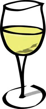 White Wine Glass Of White Wine Clip At Clker Vector Clip