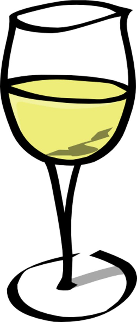 cartoon wine glass glass of white wine clip art at clker com vector clip