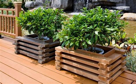 Best Wood To Use For Planter Boxes by Black Planter Box How To Make Wooden Planter Boxes