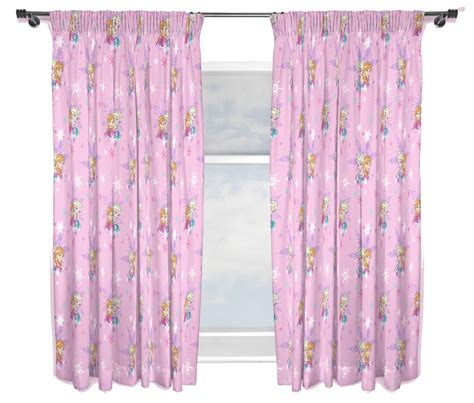 curtains 66 inch drop disney frozen magic anna and elsa curtains 66 quot x 54 quot inch