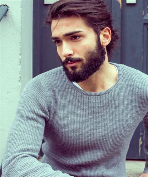 guys first hair tumblr hair beard grey sweater style men tumblr style