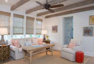 Shiplap Walls Living Room Empty Nesters Florida Vacation Home Home Bunch Interior